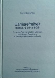 Barrierefreiheit gemäß §554a BGB